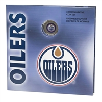 2008 Canada Edmonton Oilers NHL Coin Set with Colourized Dollar