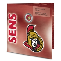 2008 Canada Ottawa Senators NHL Coin Set with Colourized Dollar.