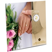 2008 Canada Wedding 25-cent Gift Set - Cake