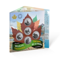 2019 50-cent Canada's Wildlife Treasures 5-coin Set