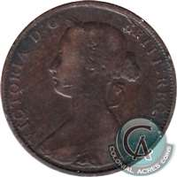 1864 Nova Scotia 1 Cent VG-F (VG-10)