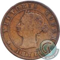 1871 Prince Edward Island 1-cent Good (G-4)
