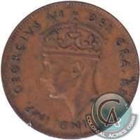 1942 Newfoundland 1-cent Very Fine (VF-20)