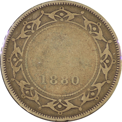 1880 Newfoundland 50 Cents Good (G-4)