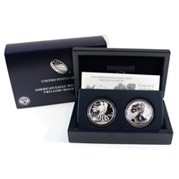 2013 American Eagle West Point 2-Coin .999 Silver Set (No Tax)