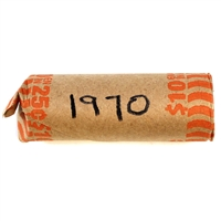 Circulated roll of 1970 25 Cents (40 pieces) Mega11
