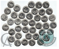 1967 Canada Rabbit 5-cent Roll of 40pcs in Average (Mega17)