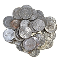 40 x Mixed 1944-1945 Victory 5 Cents (Mega25)