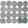 Group lot of 20 x Mixed 1971-2000 Kennedy US Half Dollars. Mega32