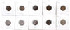 Lot of 10x USA Indian Head Cents (date range 1887 to 1908) Mega35