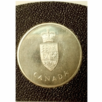 1967 Canada's Centennial Sterling Silver Medallion (Toned) Mega39