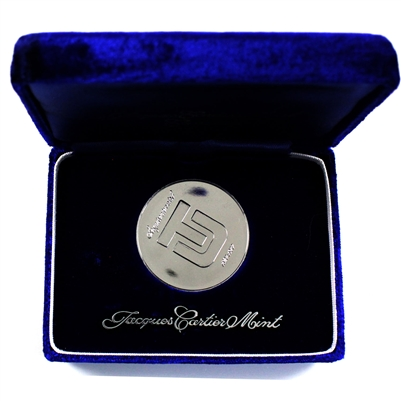 1827-1977 University of Toronto Sesquicentennial .999 Silver Medallion (No Tax)