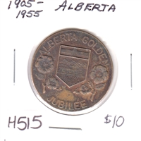 1905-1955 Alberta Golden Jubilee Medallion presented to School Children