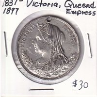 1837-1897 Victoria Queen and Empress Medal
