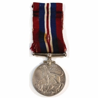 1939-1945 Canada WWII War Medal with Original Ribbon