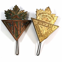 Pair of Canadian National Exhibition Pins