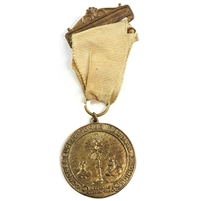 1931 Tribute to Christ the King Medal June 12-13-14 with Original Ribbon