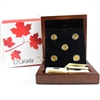 2013 O Canada $5 Gold 5-Coin Set (Dented Outer Box) No Tax