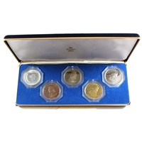1966 USA 5-Coin Specimen Proof Set by the Franklin Mint