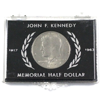 1917-1963 John F. Kennedy Memorial Half Dollar in Holder. Very Unique!