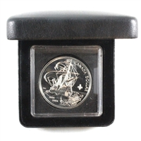 1604-2004 Canada Fleur de Lis Privy Silver Dollar w/box (No tax)