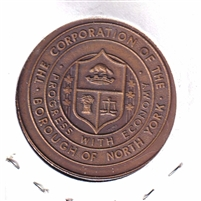 1867-1967 North York Canada Centennial Medallion