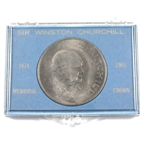 Winston Churchill 1874-1965 Crown in Special Vintage Holder.