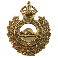 CEF Canadian Engineers Cap Badge from WWII
