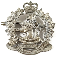 WWII Lorne Scots of Peel, Dufferin, and Halton Regiment Badge
