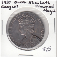 1937 King George VI & Queen Elizabeth Coronation Medallion