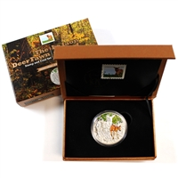 2014 Canada $20 Baby Animals - Deer Fawn Coin and Stamp Set (No Tax)