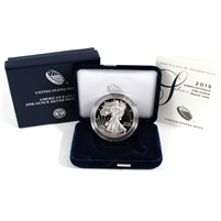 2015 USA $1 1oz .999 Silver Eagle Proof Coin (No Tax)
