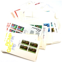 Group Lot of Mainly 1970s Canada First Day Covers, 169Pcs