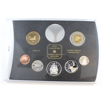 1999 Silver Frosted Proof Canada 7-coin - from the RCM Proof Double Dollar Set