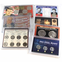 Group Lot of USA Historic and Commemorative Collector's Sets, 7Pcs (A)