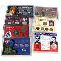 Group Lot of USA Historic and Commemorative Collector's Sets, 7Pcs (B)