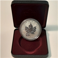 1908-1998 Canada Ann. Mint Privy Silver Maple Leaf & black case (No Tax) Toning Spot