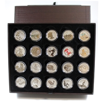 2011-2015 Canada $20 for $20 & $25 for $25 20-coin Collector Set (no folders). No Tax