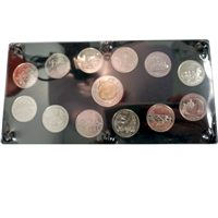 1999 Canada 13-coin Set Issued in a Deluxe Acrylic Holder