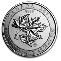 2017 Canada $8 1.5oz. Superleaf