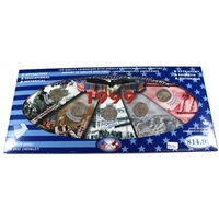 1999 USA Statehood Quarters 5-coin set in deluxe holder.