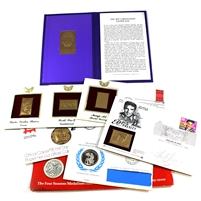 Group Lot of Assorted World First Day Covers, Commemorative, 8Pcs