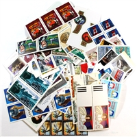 Canada Stamp Postage MNH unused (brand new) , $100 Face Value, Mixed denominations.