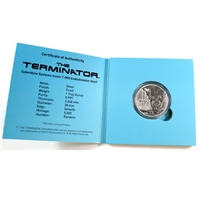 2015 USA Terminator 1oz. Fine Silver with original packaging and COA (No Tax)