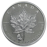 2016 Canada $5 Panda Privy Mark $5 1oz. Silver Maple Leaf (No Tax)