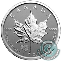 2016 Canada $5 Grizzly Privy Mark Silver Maple Leaf (No Tax)