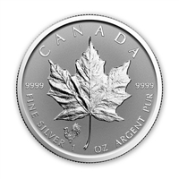 2017 Canada $5 Rooster Privy Silver Maple Reverse Proof (No Tax)
