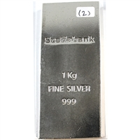 Scotiabank .999 Silver Kilo Bar (No Tax)