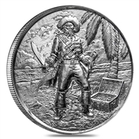 The Privateer Collection - The Captain 2oz. Ultra High Relief #3 (No Tax)