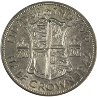 1942 Great Britain Half Crown